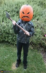Pumpkin Halloween Costume Killer Pumpkin Halloween Costume