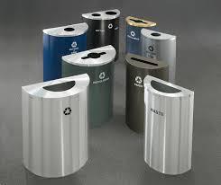 design outdoor trash cans indoor u0026 outdoor decor