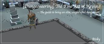 guide dungeoneering the fine art of keying guides and tips
