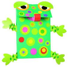amazon com alex toys little hands paper bag puppets toys u0026 games