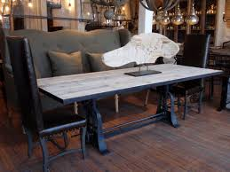 industrial kitchen table furniture creative industrial kitchen table trestle dining room