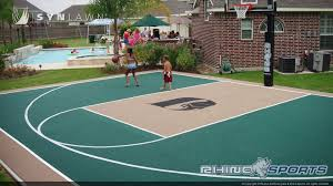 Backyard Sport Courts by Backyard Basketball Court In Draper Utah Images With Breathtaking