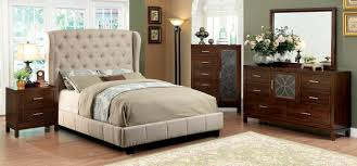 Pc Fontes Collection - Tufted headboard bedroom sets