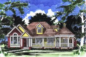 farmhouse plan with gazebo porch 31017d architectural designs