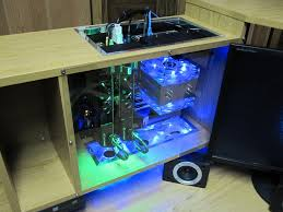computer in desk computer built into desk how a legendary pc mod