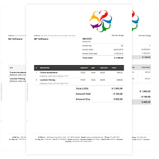excel invoice template download small business nz computer service