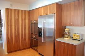 mid century modern walnut kitchen cabinets and keith s mad kitchen remodel and mad ad