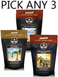 Best Light Roast Coffee Shop Gourmet Coffee 3 Packs Gifts At Bocajava Com