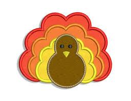 turkey applique pattern thanksgiving turkey applique design info