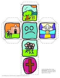 god u0027s unfolding story cube 2 25 x 2 25 inches children u0027s bible