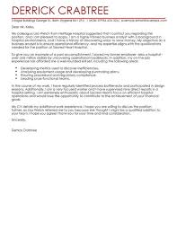 business analyst cover letter examples for business livecareer