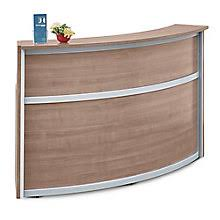 Curved Reception Desk For Sale Reception Desks W Savings You Ll Officefurniture