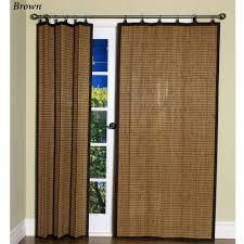 bob marley home decor bamboo ring top curtain panels