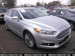 2014 ford fusion transmission used 2014 ford fusion hybrid titanium car for sale at auctionexport