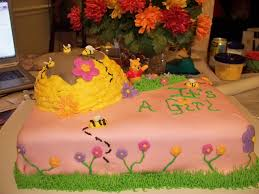 winnie the pooh baby shower cake franca flickr