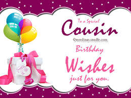 wedding wishes for cousin happy birthday cousin 04 birthday messages girl