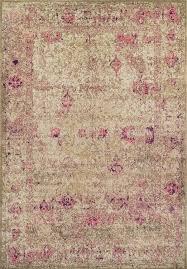 Dalyn Area Rug Vintage Rug Antiquity Aq1 Ivory Pink Traditional Rug