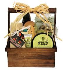 bath gift basket bath and spa gift baskets canada hemp bath gift basket