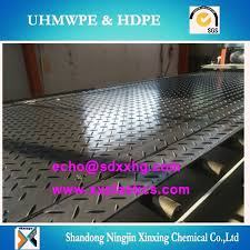 durable flooring systems interlocking uhmwpe road mat hdpe