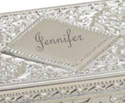 silver keepsake box silver jewelry box silver keepsake box gift for 25th wedding