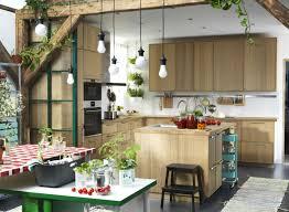 mod鑞e de cuisine am駻icaine chambre cuisine ikea avec ilot mufo modele de cuisine americaine