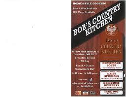 Country Kitchen Restaurant Menu - berkshiremenus com bob u0027s country kitchen