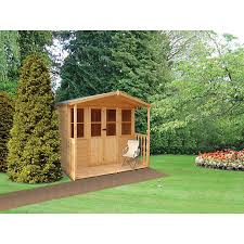 Garden Summer Houses Corner - summer houses log cabins u0026 summerhouses wickes co uk