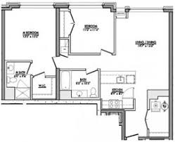 Parc Imperial Floor Plan Rivertrace At Port Imperial Rentals West New York Nj