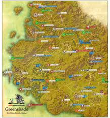 Pathfinder World Map greenshade aldmeri dominion the elder scrolls online game