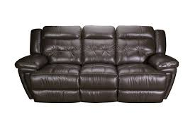 leather recliner sofa calahan reclining with cup holders red and