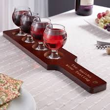 wine sets personalized wine flight set