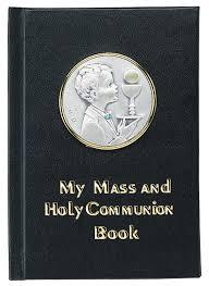 communion book catholic christian gifts sacrament holidays family occasions