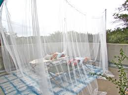 Diy Patio Enclosure Kits by Curtain Elegant And Affordable Mosquito Netting Curtains For Your