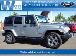 Jeep Rubicon Mpg Used 2016 Jeep Wrangler Unlimited In Corvallis Or Vin