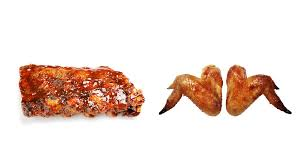 what s healthier ribs or wings fitness