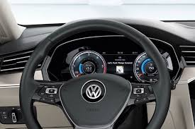 volkswagen passat 2015 is the new tft 12 3 inch screen in vw passat 2015 dashboard a real