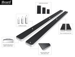 nissan frontier nerf bars iboard running boards 4
