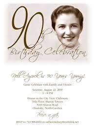 90 birthday party invitations cloveranddot com