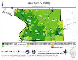 Counties In Illinois Map by Madison County Map U2014 Broadband Illinois