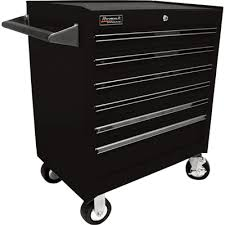 Rolling Tool Cabinets Homak 27in 6 Drawer Rolling Tool Cabinet U2014 Blue 26 3 4in W X