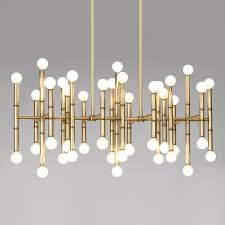 chandelier chandelier meurice rectangle nickel chandelier modern chandeliers