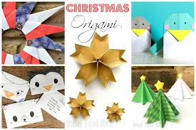 christmas paper crafts for kids red ted art u0027s blog