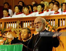 sermon of thanksgiving archbishop of canterbury rowan williams visits china photos and
