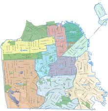 Chicago Police District Map by Sfpd Re Drawing District Lines To Reflect Population Shifts