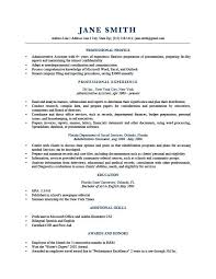 Sample Resume Bullet Points by Sample Resume Profile Berathen Com
