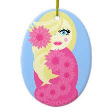 russian nesting doll ornaments keepsake ornaments zazzle