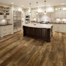 white kitchen cabinets with vinyl plank flooring courtier premium vinyl plank collection monarch hickory