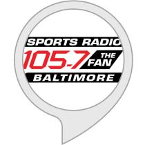 105 7 the fan baltimore amazon com 105 7 the fan alexa skills