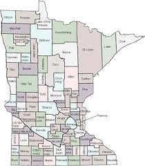 mn counties map minnesota ltap county weight information