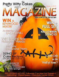 halloween cake stencils pretty witty cakes magazine issue 2 2013 by pretty witty cakes